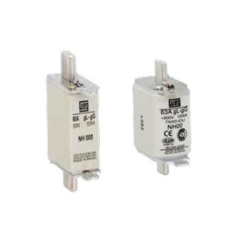Fusible para protección de circuitos eléctricos  Tamaño FNH000 16 amp Tipo