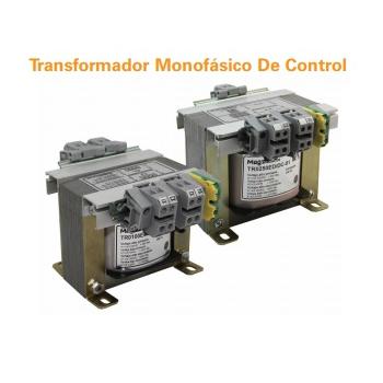 Transformador de control monofisismo, primario 220/400 vca secundario 110/220 vca  50 VA  60 Hz Mca Altech