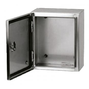 Gabinete Acero Inoxidable 400X300X200mm con Platina IP-66 ARGOS