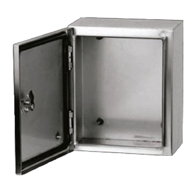 Gabinete Acero Inoxidable 600X400X250mm con Platina IP-66 ARGOS