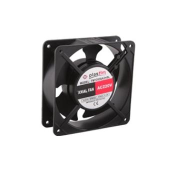 Ventilador para gabinete de 120x120x38 mm 110vca 60Hz de 0.23 Amps 2700 rpm 100 CFM rejilla de seguridad PT1212  Marca Altech