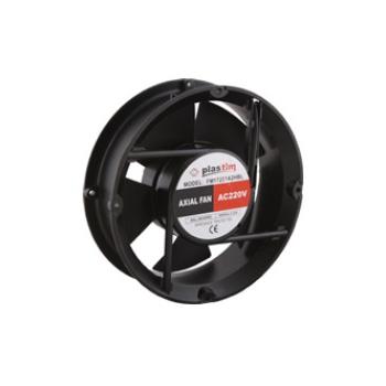 Ventilador para gabinete de 172Xx163x51 mm 110vca 60Hz de 0.46 Amps 2400 rpm 170 CFM rejilla de seguridad PT1717  Marca Altech
