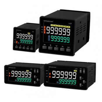 Contador 1 predeterminado 48x48mm 6 dígitos 100-240vca input NPN-PNP salida SSR y Relay 1NA+1NC 3A 240vca Hanyoung