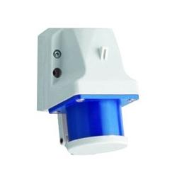 Receptáculo 2P+T 16A 220-250V azul de Sobreponer IP44 ALTECH