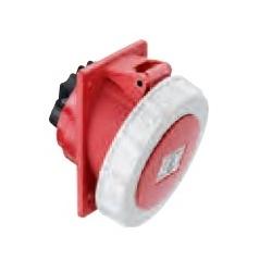 Receptáculo 3P+T 32A 440-480V rojo para empotrar IP44 ALTECH
