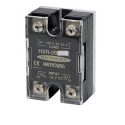 Relevador de Estado Solido Entrada 4-32VCD 30A de 90-264VCA HANYOUNG