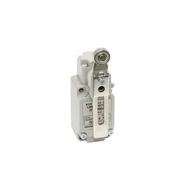 Limit Switch con Braza de Rodillo ajustable 1NA+NC 6A HANYOUNG