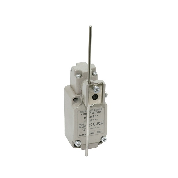 Limit Switch con Brazo de Varilla ajustable 1NA+1NC 6A HANYOUNG