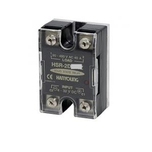 Relevador Estado Solido Entrada 4-32 VCD Carga 40A de 9-264VCA HANYOUNG