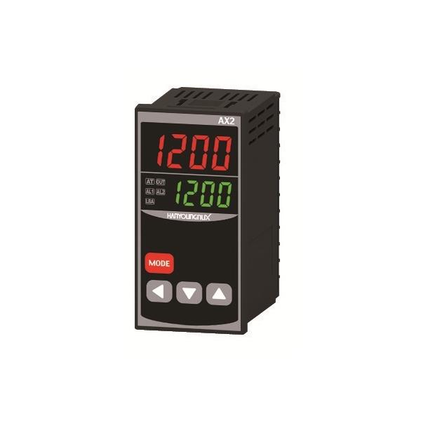 Control de Temperatura dígital 48X96mm entrada J,K, PT100 salida SSR+Rele+Rele 100-240 VCA HANYOUNG
