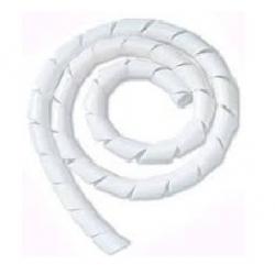 Tubo Espiral Blanco de 6.35mm de diámetro (1/4