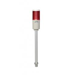 Luz indicadora fija 110 vca 1 stack con tubo y base de instalación R HANYOUNG